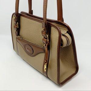VTG Dooney & Bourke AWL Satchel Shoulder Bag
